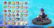 Mario Kart 8 Characters