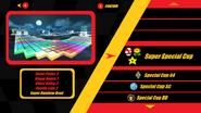 Mario Kart X Track Select SNES