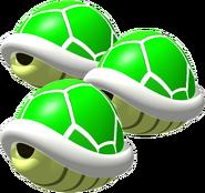 Triple Green Shells - Mario Kart 64