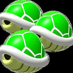 Triple Green Shells (MK64)