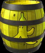 Banana Barrel - Mario Kart Wii