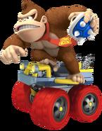 Donkey Kong - Mario Kart 7 Artwork