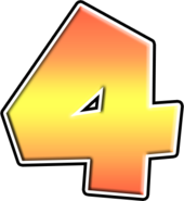 MK7 Number 4 Icon
