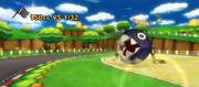 Chain Chomp on Mario Circuit (Wii)