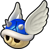 Blue Spiny Shell Icon - Koopa Kart 8