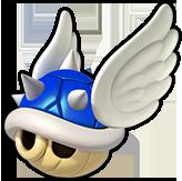 Blue Spiny Shell Icon - Koopa Kart 8