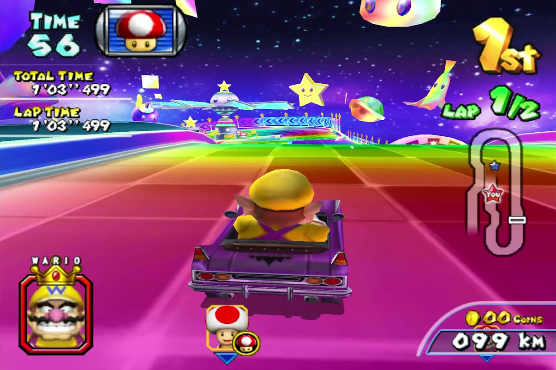 Rainbow Downhill Mario Kart Racing Wiki Fandom Powered By Wikia