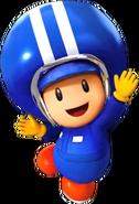 Pit Crew Toad - Mario Kart X