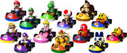 List of Mario Kart GP characters.