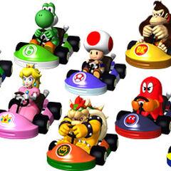 List of Mario Kart GP characters