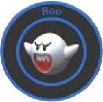 MK64 Item Boo