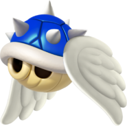 Wii Flying Spiny Shell - Mario Kart 8
