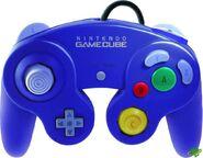 Blue Nintendo Gamecube Controller