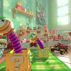 Jack-in-the-Box Koopa Clown Cars.