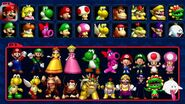 Mario Kart Double Dash!! Characters