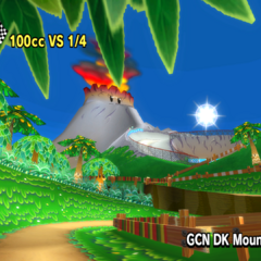 The track as seen in <i>Mario Kart Wii</i>.