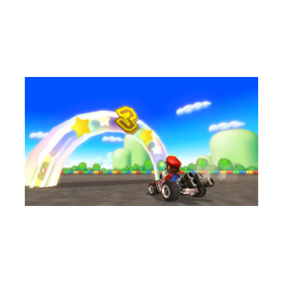 Mario competing in a <a href=