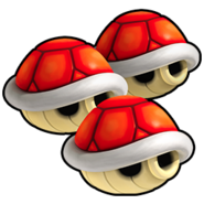 Triple Red Shell Icon - Mario Kart Wii
