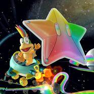 MKT Rainbow Starchute