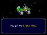 Green Fire unlock