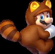 Tanooki Mario - Mario Kart X