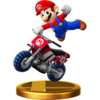 Mario Standard Bike (Super Smah Bros.)