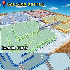 The course, as it appears in <i>Mario Kart DS</i>.