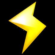 Lightning Icon - Mario Kart Wii