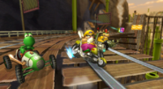Wario's Bike is awesome
