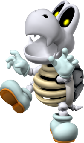 File:Dry Bones Artwork - Mario Party 7.png