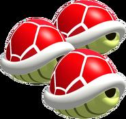 Triple Red Shells - Mario Kart 64