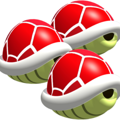 Triple Red Shells (MK64)