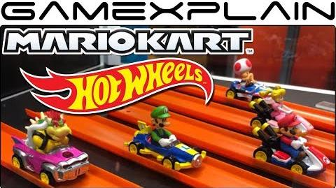 Close-Up Look at the Mario Kart Hot Wheels Toys! (SDCC 2018)