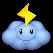 Thunder Cloud Icon - Mario Kart Wii