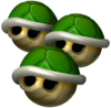 Triple Green Shell - Mario Kart Double Dash