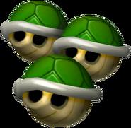 Triple Green Shell - Mario Kart Double Dash