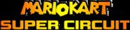 HammerBro101's Mario Kart Super Circuit Logo