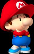 Baby Mario - Mario Kart X