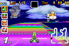 Rainbow Road Gba Mario Kart Racing Wiki Fandom Powered By Wikia
