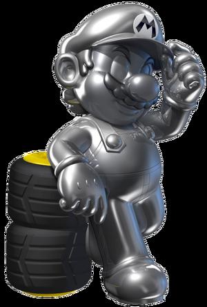 Metal Mario - Mario Kart 7