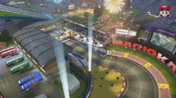 Mario Kart Stadium - Mario Kart 8