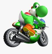 6-67213 motorcycle-clip-art-images-black-mario-kart-yoshi