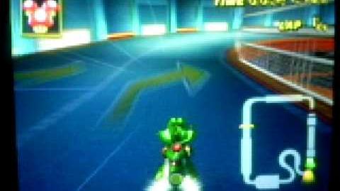 Mario Kart Wii - Toad's Factory hidden shortcut