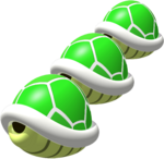 Triple Green Shells 3 - Mario Kart 64