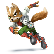 Fox - Mario Kart X