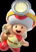 Captain Toad - Mario Kart X