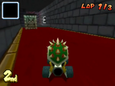 Bowser Castle (DS) Shortcut