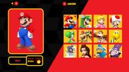 Mario Kart X Character Select Start