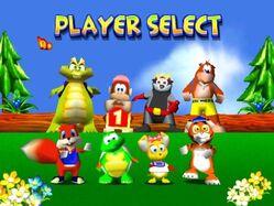 Diddy Kong Racing (Characters)