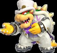 Wedding Bowser - Mario Kart X